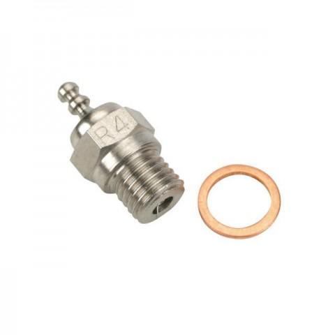 Dynamite Platinum Series Medium R4 Glow Plug for Nitro Engines - DYNP5604