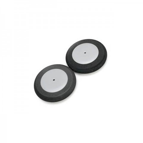 Eflite 57mm Foam Park Wheel for RC Planes (Pack of 2 Wheels) - EFLA224