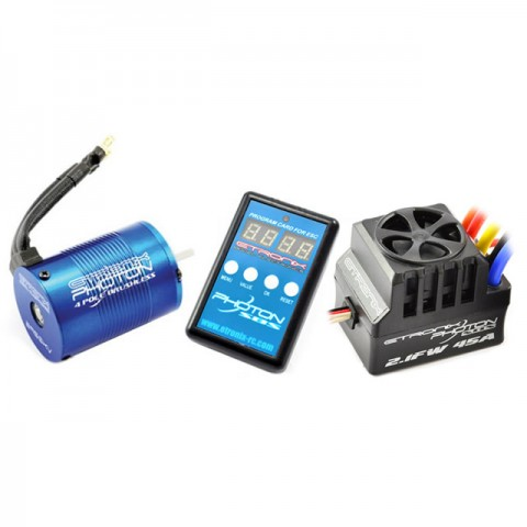 Etronix Photon SC 2.1FW System with 3000KV Brushless Motor and 80A ESC - ET0425
