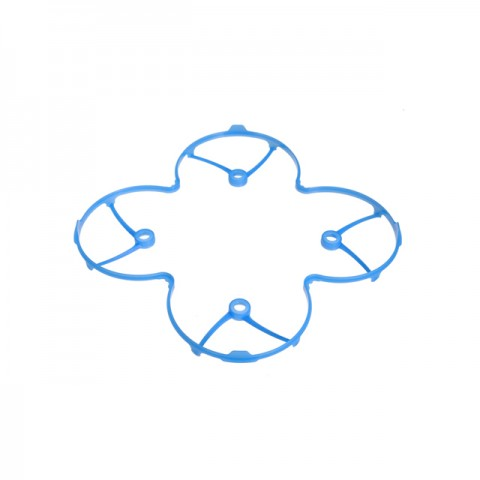 Hubsan X4 and X4L Mini Quad Copter Propeller Protection Guard Cover (Blue) - H107-19BL