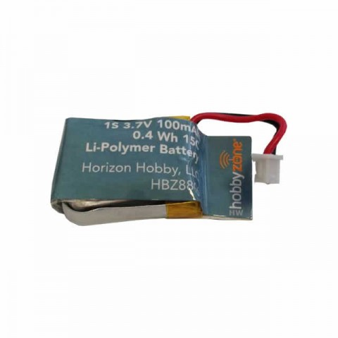 HobbyZone Faze V2 Ultra Small Quad Copter Drone 100mAh 1S 3.7v LiPo Battery - HBZ8806