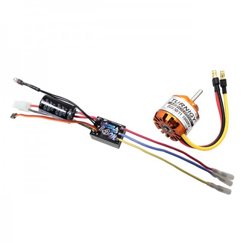 Mtroniks Hydra 30A Brushless Combo ESC Speed Controller & Motor - HYDRA30COMBO