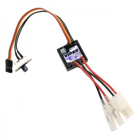 Mtroniks Viper Micro Marine 10A Brushed ESC Speed Controller for RC Boats - MTMM10