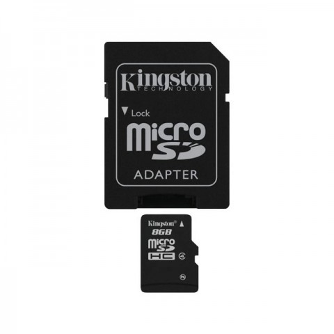 Kingston 8GB Micro SDHC Digital Memory Card Class 4 - SD4C-8GB