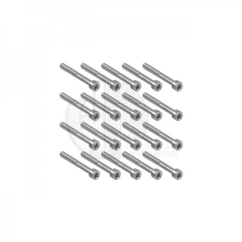Simply RC M4 x 35 Socket Cap Screw (Pack of 20 Screws) - SRC-40052