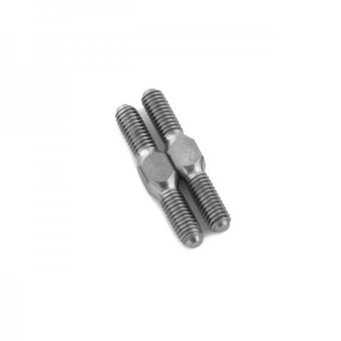 Trick Bits Lunsford 3mmx18mm Titanium Turnbuckles (Pack of 2) - TB6102
