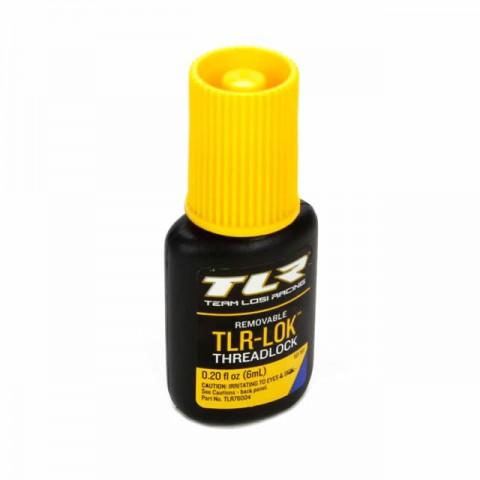 Team Losi Racing TLR-LOK Blue Thread Locker (6ml) - TLR76004