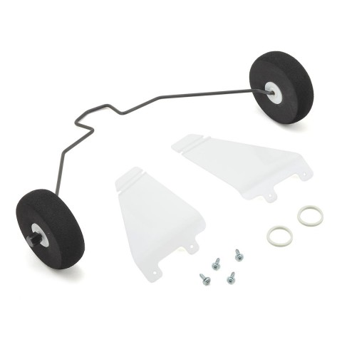 HobbyZone Super Cub EP and LP Landing Gear with Tyres - HBZ7106