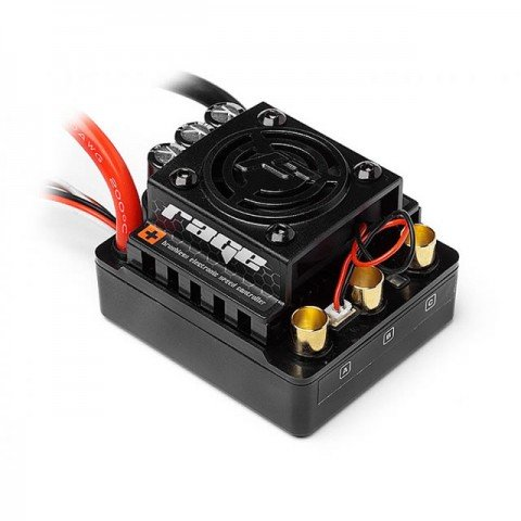 HPI Flux Rage 1/8th Scale 80A Brushless ESC for use with Flux Scream Motor - 101712