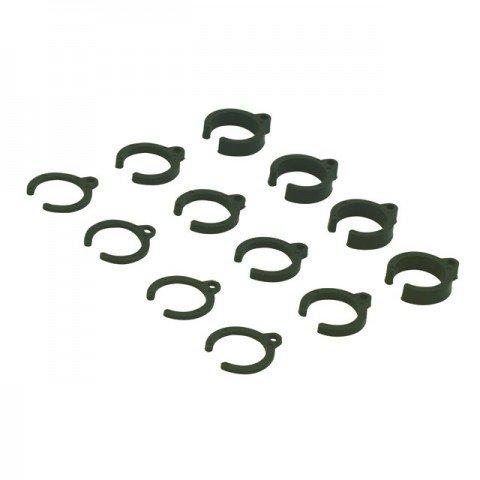 Absima Damper Parts Set 1mm/2mm/4mm for 1/10 (Pack of 12) - 2330001