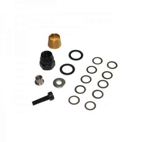 Answer RC Rear Flywheel Nut, Collet, Shims and Crank Extender - ANSCS4002