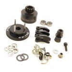 Answer RC 1/8th Complete 13T Clutch Bell Set with Alloy Shoes, Flywheel and Springs - ANSCS4003-AL