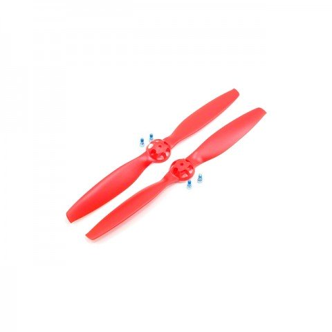 Blade 350 QX Red Propeller Clockwise and Counter-Clockwise Rotation (Pack of 2) - BLH7821B