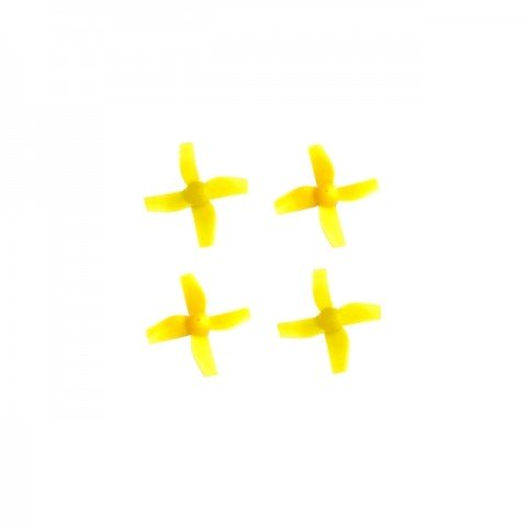 Blade Inductrix Quadcopter Drone CW & CCW Rotation Propeller Set (Yellow) - BLH8506