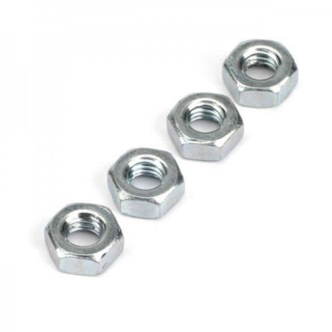 Dubro 3mm Steel Hex Nut (Pack of 4 Nuts) - DB2105