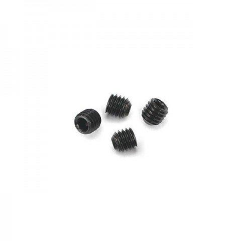 Dubro Socket Set Grub Screw 3mm x 3mm (Pack of 4 Screws) - DB2168