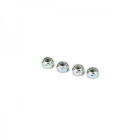 Dubro Nylon Insert 5mm Lock Nut (Pack of 4 Nuts) - DB2175