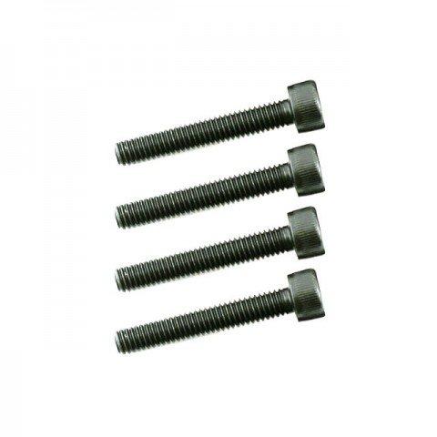 Dubro 4mm x 25mm Socket Head Cap Screw (Pack of 4 Screws) - DB2280