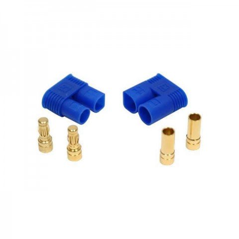 Dynamite EC2 Connector with Housing (1 Pair Male/Female) - DYNC0002