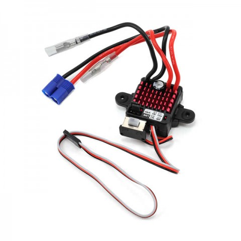 Dynamite Waterproof 60A FWD/REV LiPo Compatible 8T Brushed ESC - DYNS2210