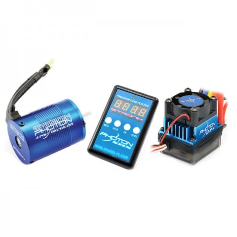 Etronix Photon 2.1W System with 9.0T 4350KV Brushless Motor and 45A ESC - ET0412