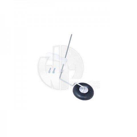 Logic RC Tail Wheel Bracket Set for Planes 25mm/1inch - LA270-25