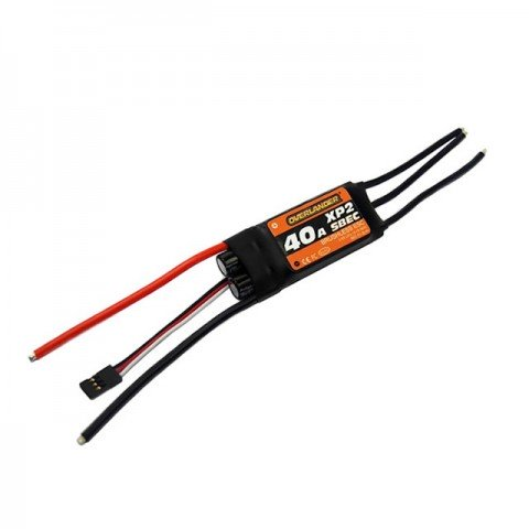 Overlander ESC XP2 40A SBEC Brushless Speed Controller for Planes and Helis - OL-2612