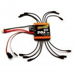 Overlander XP2 Quad 20A Brushless ESC 4-in-1 Speed Controller for Quadcopters - OL-2693