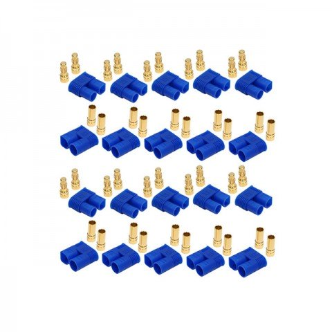 Overlander EC3 3.5mm Connector with Housing (10 Pairs Male/Female) - OL-2703