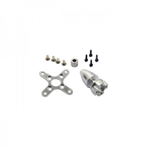 Overlander Tornado Thumper C35 Prop Adaptor, Spinner and Mount Plate for 3536, 3542 and 3548 Brushless Motors - OL-289