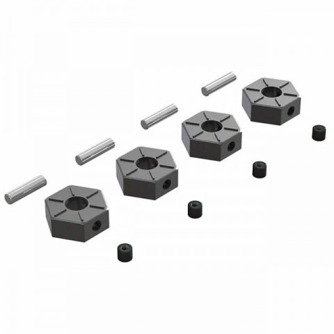 Arrma Metal Wheel Hex with Pin 12mm (Pack of 4) - AR310816