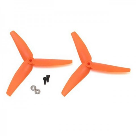 Blade 230 S, 200 S and 250 CFX Tail Rotor Orange Propeller (Pack of 2 Props) - BLH1403