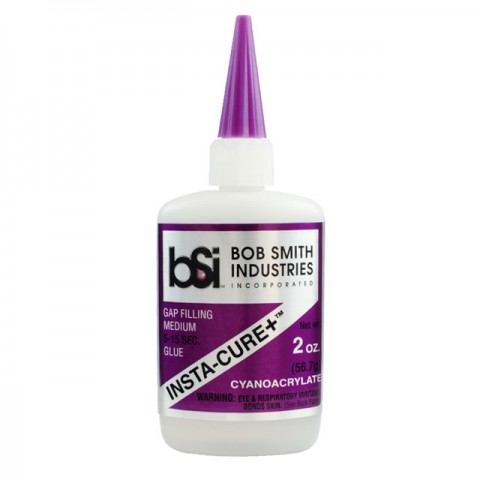 Bob Smith Industries Insta-Cure+ Gap Filling Super Glue CA (2oz) - BSI108