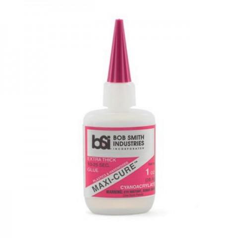 Bob Smith Industries MAXI-CURE Extra Thick CA Glue (1oz) - BSI112