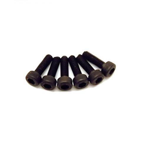 Fastrax M3x18 Socket Cap Head Screw (Pack of 6 Screws) - FAST118