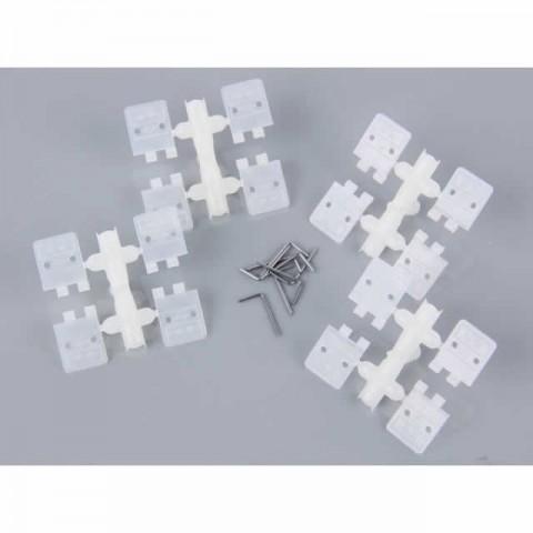 J Perkins Small Nylon Pin Hinge 11x27mm (Pack of 8 Hinges) - JPD5509620