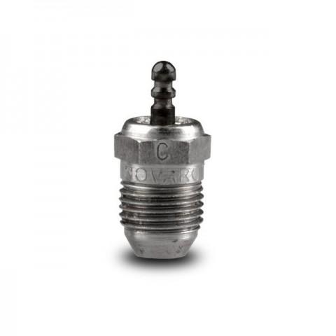 Novarossi Conical Turbo Cold No 6 Glow Plug 10°C to 25°C Off Road - NV-CT06