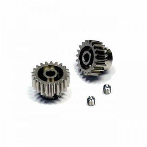 Tamiya 20T and 21T 0.6 Mod Pinion Gear Set - 50356