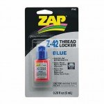 Zap PT42 Z-42 Blue Thread Locker .20oz (6ml) - 5525735