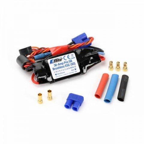 E-flite 30-Amp Pro Switch-Mode BEC Brushless ESC (V2) - EFLA1030B