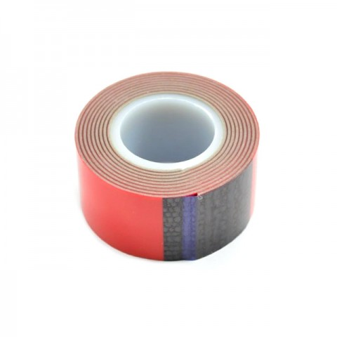 Fastrax Premium Double Sided Servo Tape 25mm x 1 metre Roll (1mm Thickness) - FAST187