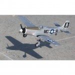 E-flite UMX P-51 BL Ultra-Micro Electric Airplane with AS3X (Bind-N-Fly Basic) - EFLU3350