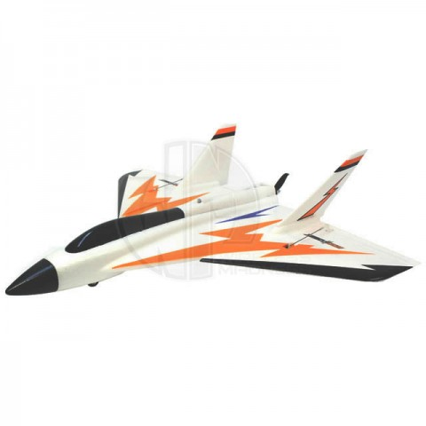 Roc Hobby Swift Pusher High Speed Brushless Foam Jet with 2.4Ghz Radio System (Ready to Fly) - ROC005-1