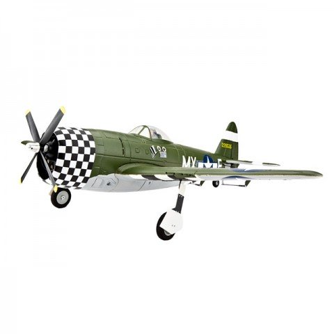 E-flite P-47D Thunderbolt Electric Airplane with Retracts (Bind-N-Fly Basic) - EFL6850
