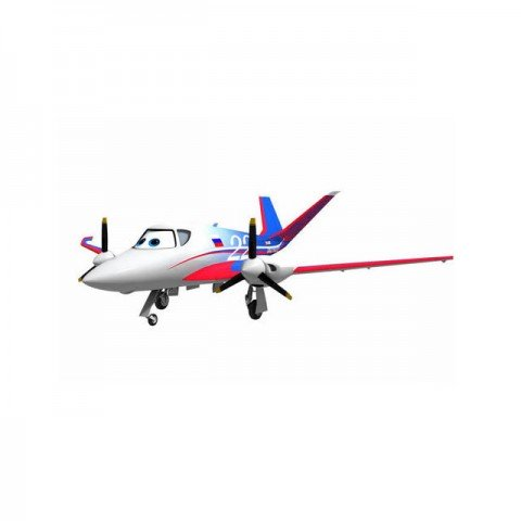 Zvezda Disney Rochelle Snap Together 1/100 Scale Model Plane Kit for Ages 7+ - Z2070