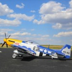 E-flite P-51D Mustang 1.5m with Smart ESC and AR637TA Receiver (BNF Basic) - EFL01250
