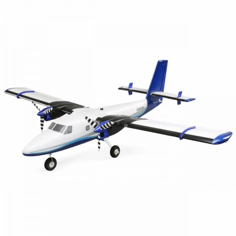 E-flite Twin Otter RC Plane with AS3X and SAFE Technology with Floats (BNF Basic) - EFL30050