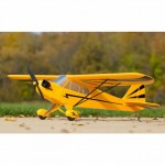 E-flite Clipped Wing 1.2m Cub Electric Airplane with AS3X and SAFE Technology (BNF Basic) - EFL5150