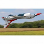 E-flite F-16 Thunderbirds 70mm EDF Plane with AS3X and SAFE Select (BNF Basic) - EFL7850