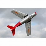E-flite UMX MiG-15 28mm EDF Jet Plane with AS3X and SAFE Select (BNF Basic) - EFLU6050